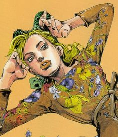jolyne,fly high with gucci 『徐倫、GUCCIで飛ぶ』from JOJO'S BIZARRE ADVENTURE