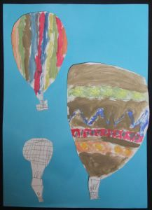 Perspektiivin opetus kuumailmapalloilla