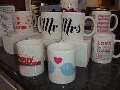 #love #wedding #mr&mrs #customprint #valentines info@printzone.ie Personalized Mugs, Novelty Print, Love Valentines, True Love, Branding, Tableware, Prints, Fun, Wedding