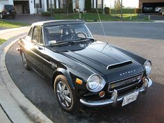 Datsun 2000 Fairlady Roadster cir 1970, have owned it.