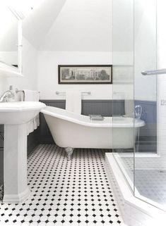 95 Luxury Black and White Bathroom Ideas
