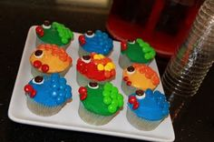 Fish Cupcakes for St. Anthony (in remembrance of his preaching to the fish)