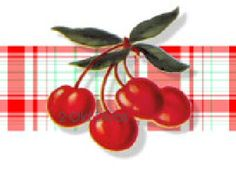 Vintage Style Hanger Babies Decals by on Etsy Cherry Baby, Cherry Tree, Cherry Cherry, Kitchen Decals, Cherries Jubilee, Bowls, Cherry Kitchen, Baby Lamb, Red Cottage