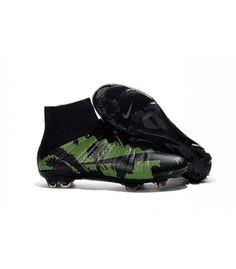 Acheter Nouveau Chaussure de Football Nike Mercurial Superfly CR FG Camo Noir pas cher en ligne 114,00€ sur http://cramponsdefootdiscount.com