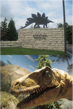 Creation Museum in Petersburg, Kentucky:  Presenting the Bible and history in a completely unique way—walk through the pages of God's Word and encounter creation, corruption, catastrophe, Christ, the Cross, and consummation through a number of engaging exhibits.