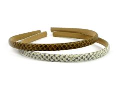 Snakeskin hair band - 1 cm ** Details can be found by clicking on the image. Designer Headbands, Headband Styles, Hair Ornaments, Hair Care Tips, Beauty And The Beast, Snake Skin, Hair Clips, Most Beautiful, Fashion Headbands