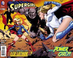 Week 3 Supergirl #19 WTF April 2013 Full Gatefold Cover Worlds Finest Earth 2 Power Girl