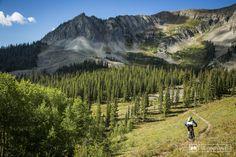 The top of Green Lake Trail has no shortage of great views. #mtb #mountainbiking #travel