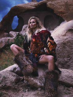 a rolling stone — Natasha Poly by Mert Alas & Marcus Piggott for...