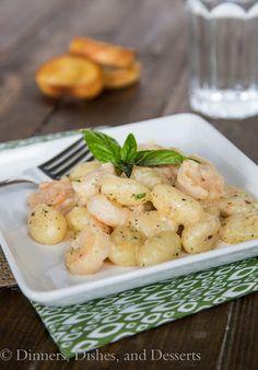 Gnocchi Shrimp Scampi