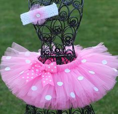 Hey, I found this really awesome Etsy listing at http://www.etsy.com/listing/150413575/pink-polka-dot-minnie-tutu-minnie-mouse