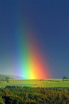End of the Rainbow #rainbows #nature