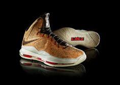 Zapatillas para el All Star de la NBA; alienígenas, camuflaje…y corcho