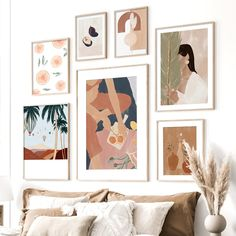 Fig Orange Coconut Fashion Woman Vase Wall Art Canvas Painting Nordic Poster And Prints Wall Pictures For Living Room Home Decor Canvas Art Prints, Canvas Wall Art, Living Room Pictures, Wall Pictures, Living Room Canvas, Nordic Art, Hanging Wall Art, Wall Hangings, Rooms Home Decor
