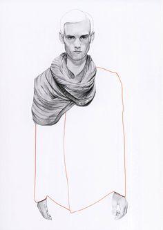 Fashion illustrator Richard Kilroy