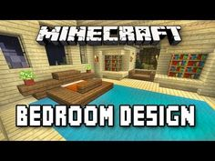 Minecraft Tutorial: How To Build A House Part 9 (Master Bedroom Design)