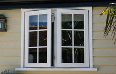 A casement window is a window that swings open inwardly or outwardly. A casement window is a window that is hinged and opens and closes like a book. Double Casement Windows, Double Hung Windows, Upvc Windows, French Windows, Aluminium Windows, Sliding Windows, House Windows, Windows And Doors, Double Window