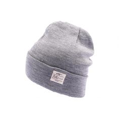 Bonnet JBB Couture Gris avec revers #bonnet #mode #urbanwear #streetwear #skate #livraison48h