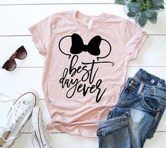 Best Day Ever Tee. Disney T-shirt. Disney World. Disney World Shirts, Disney Shirts For Family, Walt Disney World, Disneyland Shirts, Disney Shirt For Women, Disney Princess Shirts, Cheap Disney Shirts, Disneyland Trip, Disney Vacations