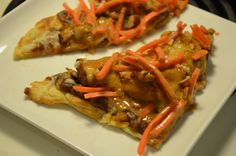 Holiday Appetizer: Grilled Thai Chicken Pizza #HolidayAdvantEdge