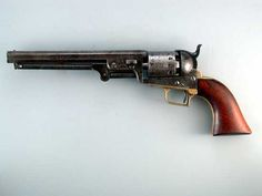 Super Rare Colt 1851 First Model Squareback Navy Colt.