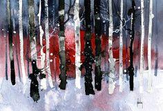 Black Birches  2012  Paul Bailey Art
