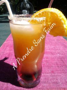 A Prendre Sans Faim: Cocktail tropical sans alcool http://www.aprendresansfaim.com/2014/08/cocktail-tropical-sans-alcool.html