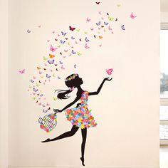 40 Best Girl Wall Sticker Images Girls Wall Stickers Wall Sticker Wall Stickers