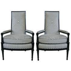 French 1930's Armchairs