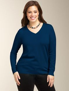 Talbots - Cashmere V-Neck Sweater | Sweaters | Woman
