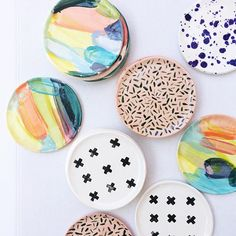 Andrea Luna Reece | Art & Ceramics | mini plates