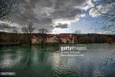 Castle Otocec by the Krka river is tourist attraction,... #otocec: Castle Otocec by the Krka river is tourist attraction,… #otocec