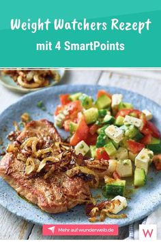 This Weight Watchers Recipe for Gyros Schnitzel with Peasant Salad has only 4 SmartPoints. The post New Weight Watchers recipes with 2 and 4 SmartPoints appeared first on Garden ideas. Clean Eating Diet, Clean Eating Recipes, Lunch Recipes, Meat Recipes, Chicken Recipes, Dinner Recipes, Healthy Eating, Healthy Lunches, Plats Weight Watchers