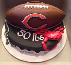 Manly Sports Cake - Kyrsten's Sweet Designs | Specialty Cakes and Cookie Favors