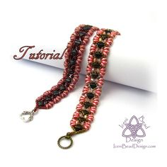 Airmid Bracelet Tutorial with Silky Beads by IceniBeadDesign