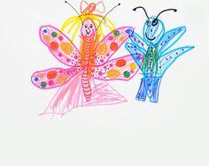 butterflies. water pen. 2013. A4.