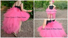 Check out this item in my Etsy shop https://www.etsy.com/listing/457076576/bright-hot-pink-flamingo-bustle-tutu-all