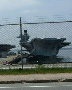 USS CV60 Saratoga still being hold in scrap yard  8-2015