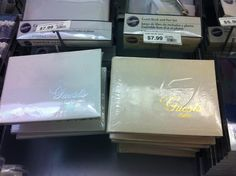 Like the gold writing on the right. But I want the white book with gold writing. Not with ivory color $7.99