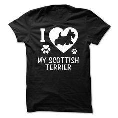 I Love My Scottish Terrier T Shirts, Hoodies, Sweatshirts. CHECK PRICE ==►…