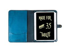 Galaxy Note 10.1 All Leather Case - Free Inscription