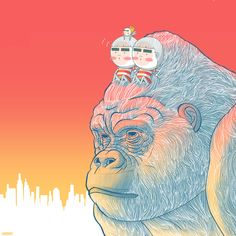 Let's play like King Kong