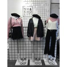 0 Cute Fashion, Pop Fashion, Daily Fashion, Teen Fashion, Fashion Outfits, Womens Fashion, Ulzzang Fashion, Korean Street Fashion, Korea Fashion