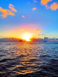Grand Cayman Sunset! :)