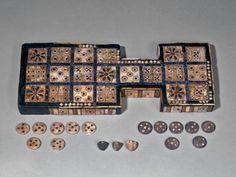 UR -The Royal Game of Ur, ca 2600-2400 BC. Sumer. British Mus. omgthatartifact