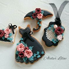 * Black and Rose *