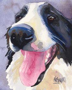 I usually hate pet drawings/paintings but this one is awesome!
