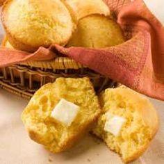 Easy cornbread muffins recipe - All recipes UK Uk Recipes, Muffin Recipes, Bread Recipes, Baking Recipes, Baking Ideas, Yummy Recipes, Bread Without Yeast, Mexican Cornbread, Cornbread Muffins