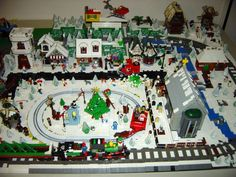 Winter Village Layout Idea 2