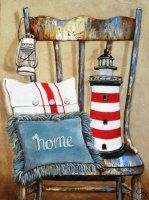 US Shipping Nautical Beach Decor Lighthouse Home Diamond Painting Kit. by OurCraftAddictions Fabric Softener Sheets, Decoupage Printables, Lighthouse Art, Country Paintings, Mosaic Crafts, 5d Diamond Painting, Cross Paintings, Decoupage Paper, Vintage Images